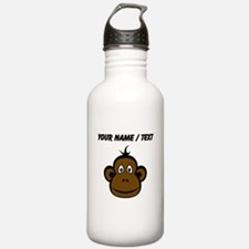 Custom Monkey Face Sports Water Bottle