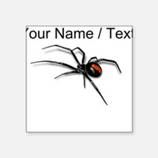 Custom Red Back Spider Sticker