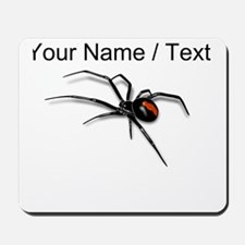 Custom Red Back Spider Mousepad