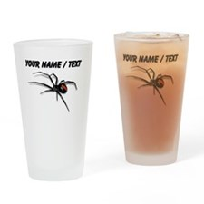 Custom Red Back Spider Drinking Glass