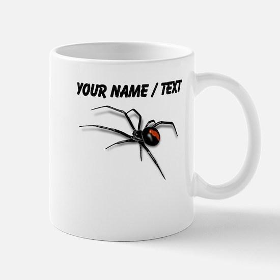 Custom Red Back Spider Mugs