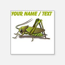 Custom Green Cricket Sticker