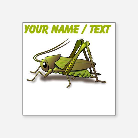 Custom Green Cricket Sticker