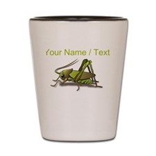 Custom Green Cricket Shot Glass