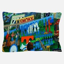 Knoxville, TN Mural Pillow Case