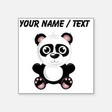 Custom Baby Panda Sticker