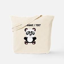 Custom Baby Panda Tote Bag