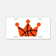 Basketball crown ball Aluminum License Plate