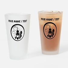 Custom Piranha Drinking Glass