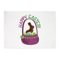 Happy Easter! 5'x7'Area Rug