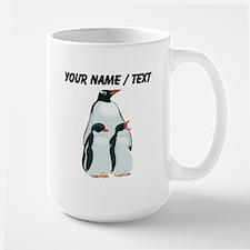 Custom Penguin Family Mugs