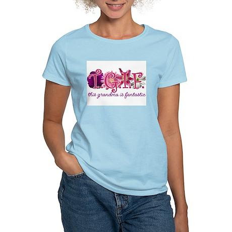 this grandma is fantastic Women's Light T-Shirt