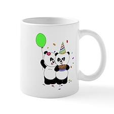 Panda Happy Birthday Mugs