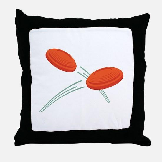 Skeet Clays Throw Pillow