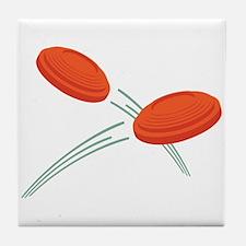 Skeet Clays Tile Coaster