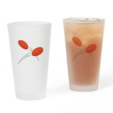 Skeet Clays Drinking Glass