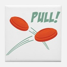 PULL! Tile Coaster