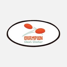 Champion Skeet Shooter Patches