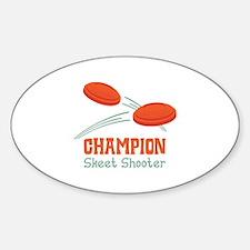 Champion Skeet Shooter Decal