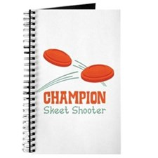 Champion Skeet Shooter Journal