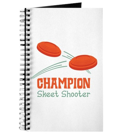 Champion Skeet Shooter Journal