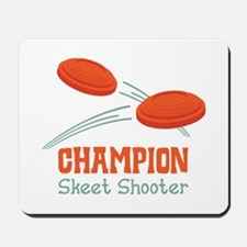 Champion Skeet Shooter Mousepad