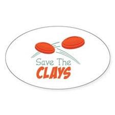 Save The CLAYS Decal