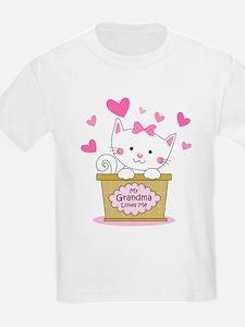 Kitty Grandma Loves Me T-Shirt