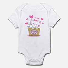 Kitty Grandma Loves Me Onesie