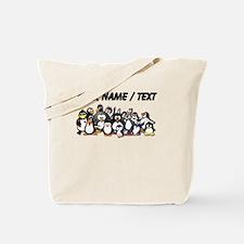 Custom Penguins Tote Bag
