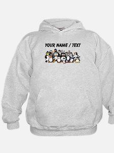 Custom Penguins Hoody