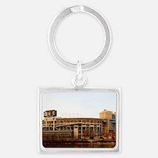 Neyland Stadium Landscape Keychain