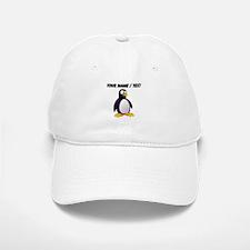 Custom Cartoon Penguin Baseball Baseball Cap