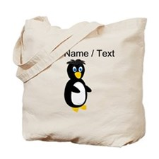 Custom Baby Penguin Tote Bag