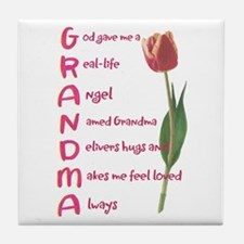 grandma Tile Coaster