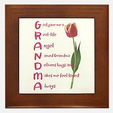grandma Framed Tile