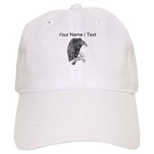 Custom Vulture Sketch Baseball Cap