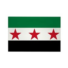 Syrian National Coalition Flag Rectangle Magnet