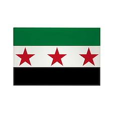 Syrian National Coalition Flag Rectangle Magnet
