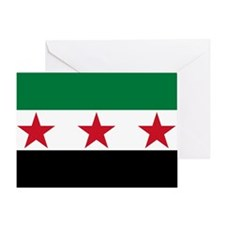 Syrian National Coalition Flag Greeting Card
