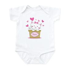 Personalized Kitty Love Infant Bodysuit