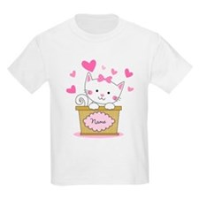 Personalized Kitty Love T-Shirt