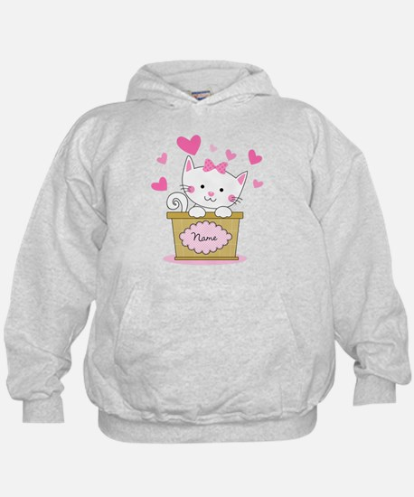Personalized Kitty Love Hoody