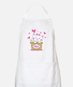 Personalized Kitty Love Apron