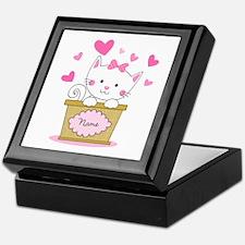 Personalized Kitty Love Keepsake Box