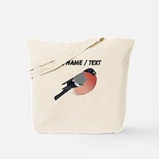 Custom Eurasian Bullfinch Tote Bag