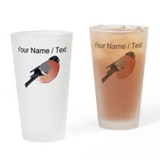 Custom Eurasian Bullfinch Drinking Glass