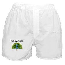 Custom Peacock Boxer Shorts
