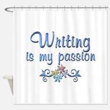 Writing Passion Shower Curtain