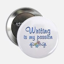 "Writing Passion 2.25"" Button"